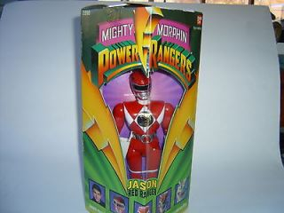 Original Red Power Ranger Jason Morphin Action Figure Bandai 1993 MIB