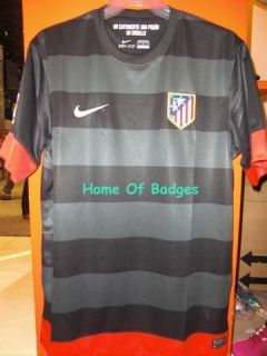 ATLETICO MADRID FC AWAY 2012 13 FOOTBALL SOCCER MAGLIA SHIRT SPAIN