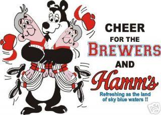 hamms beer in Mens Clothing