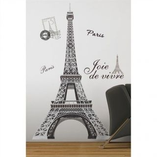 TOWER Giant 56 Removable Wall Decals Mural PARIS Room Decor Stickers