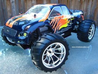 rc gas monster trucks