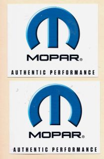 Mopar Racing Decal Stickers 5 inch Long Size New