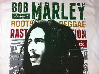 Bob Marley Legend T Shirt Roots Reggae Rasta Jamaica Rastafari NWT