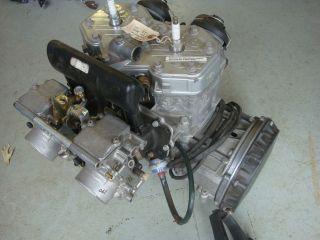 SKI DOO 600 TWIN ROTAX ENGINE MOTOR MXZ 500SS 99 05 REV TNT CARBS