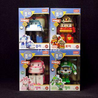 Academy Robocar Poli transformer Robot toys POLI ROY AMBER HELLY 4