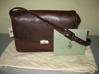 Mark Cross Designer Brown Leather Handbag/Bag, New with Tags