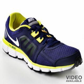 ... Nike Dual Fusion ST 2 Mens Running Shoe size 12 BLUE ELECTROLIME ...