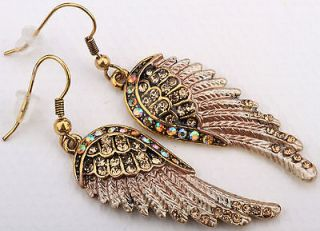 angel wings earrings in Earrings