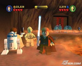 LEGO Star Wars The Video Game Xbox, 2005