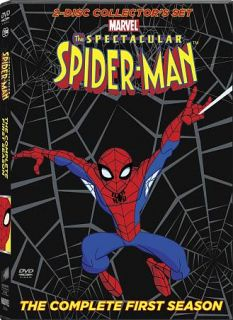 The Spectacular Spider Man   The Complete First Season DVD, 2009, 2