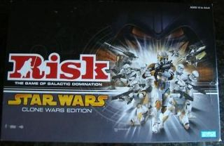 RISK STARS WARS Clone Wars Edition Game ✿✿✿✿MAKE an OFFER