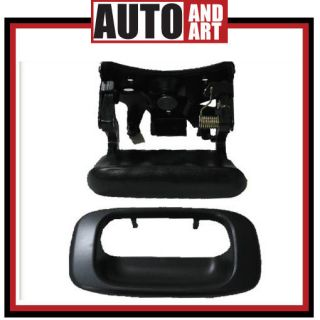 Tailgate Liftgate Handle & Bezel Assembly 99 07 Chevy GMC Pickup Truck