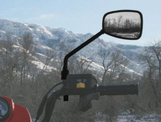 ATV Four Wheeler Clearview Mirror with Vibration Isolator ATV TEK