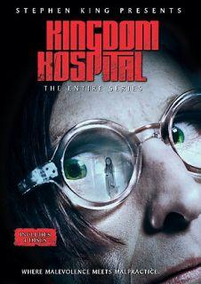 Stephen King Presents Kingdom Hospital DVD, 2004, 4 Disc Set