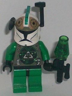 Lego Star Wars Clone Wars Custom Commander Gree Elite Clone Gunner w