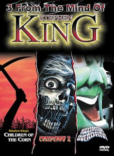 From the Mind of Stephen King DVD, 2003, 3 Disc Set