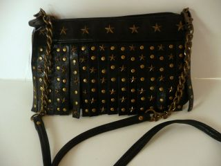 Steve Madden Black Crossbody Bag Purse BSPARTA NWTs