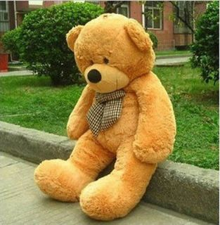 "2M 47"" Giant Huge Cuddly Teddy Bear Toy Doll Stuffed Animals Plush"