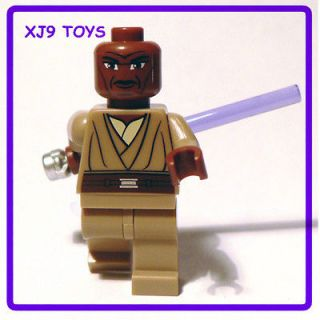LEGO STAR CLONE WARS Mace Windu 8019 7676 V.RARE