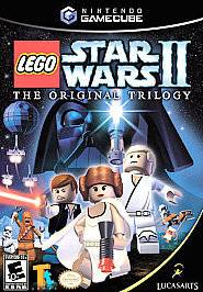 LEGO Star Wars II The Original Trilogy Nintendo GameCube, 2006   FREE