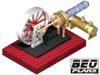 stirling engine plans in Tools, Supplies & Engines