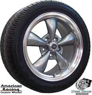 17 GRAY AMERICAN RACING TORQ THRUST WHEELS & NEXEN TIRES CHEVY CAMARO