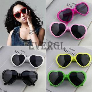 Love Sweet Heart Valentine Shaped Men Women Sunglasses 8 Colors