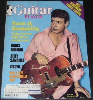 Guitar Player Magazine December 1983 Rockabilly, Eddie Cochran