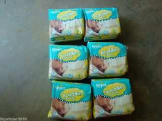 pampers swaddlers size 1 in Disposable Diapers