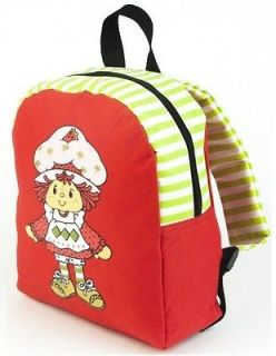 Strawberry Shortcake Cartoon Movie Rag Doll Girls Red Mini Backpack