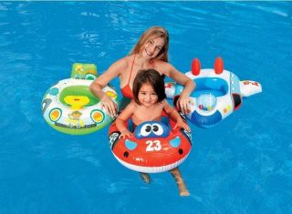 Car Baby Float Inflatable Swim Ring Seat Support Swimming Aid Trainer