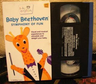Baby Beethoven Einstein Vhs Symphony of Fun Musical Visual Educational
