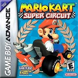 Mario Kart Super Circuit Nintendo Game Boy Advance, 2001