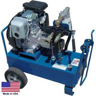 HYDRAULIC POWER UNIT Portable   7 GPM   1,450 PSI   9 Hp Honda   Incl