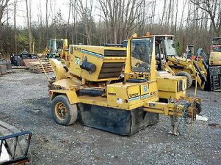 VERMEER SC 602 TOW BEHIND STUMP GRINDER CUTTER CAT DIESEL 1385 HRS