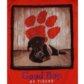 Clemson Tigers Football T Shirts   Mans Best Friend   Good Boy   Dog