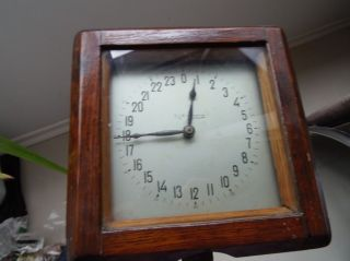 Very rare authentic WWII Russian Soviet Submarine 24h dial Deck clock