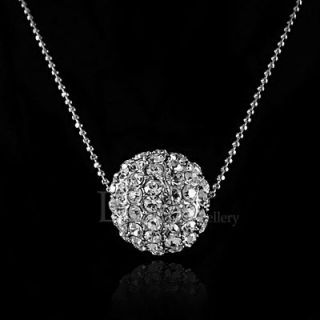 crystal ball necklace in Necklaces & Pendants