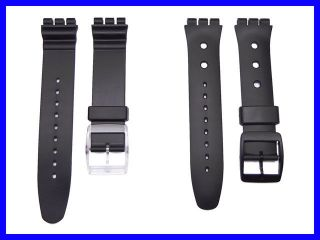 Watch Band Strap fits Swatch Aquachrono & Irony Chrono