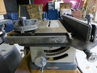 Vintage Craftsman Table Saw  Century Motor Model 113 22401