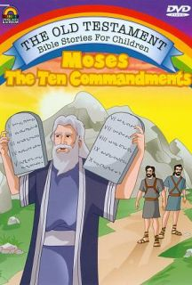 Stories For Children   Moses The Ten Commandments DVD, 2009