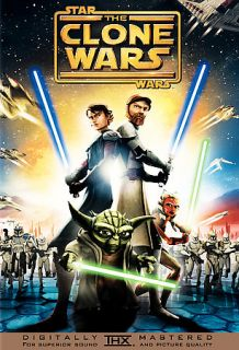Star Wars The Clone Wars DVD, 2008