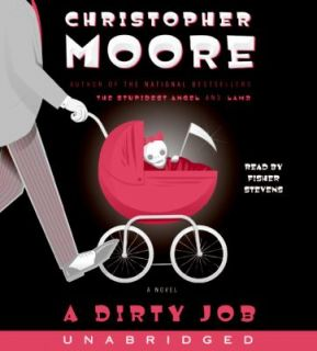 Dirty Job by Christopher Moore 2006, CD, Unabridged