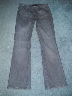 Womens Chinese Laundry Dark Wash Flare Jeans Size 28