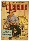 Cheyenne 24 Clint Walker Photo Cover 1960 TV Western
