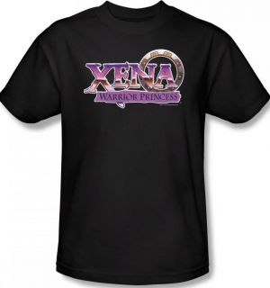 Kid Youth SIZE Xena Warrior Princess Logo Title TV T shirt top tee
