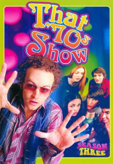That 70s Show   Season 3 DVD, 2012, 3 Disc Set