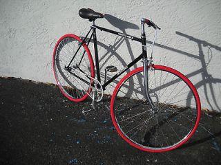 SCHWINN World Tour vintage road bike single speed steel frame Made in
