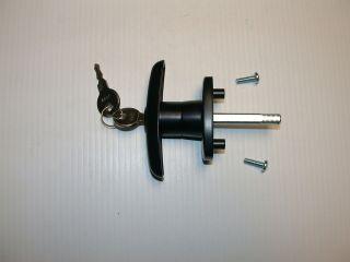 Heavy Duty Truck Cap Lock T Handle clockwise to open