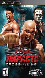 TNA Impact Cross the Line PlayStation Portable, 2010